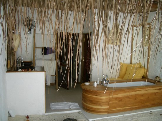 Soneva Fushi:                   From the shower
