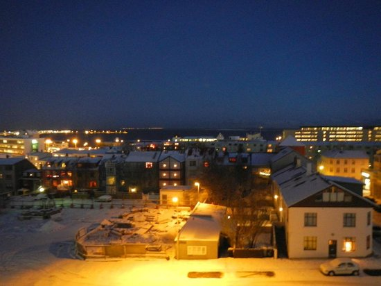 Hotel Klettur: Night View
