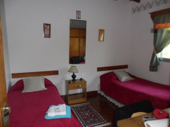 Residencial Sissus: habitacion doble twin