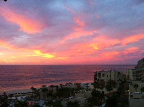 The Resort at Pedregal:                   Good morning view from section 6 !