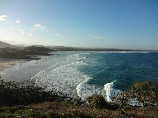 The Hideaway Cabarita Beach:                   Long stretches of beach