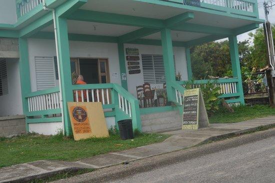 Exterior of Driftwood Cafe, Punta Gorda