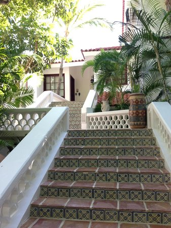 One & Only Palmilla: stairs leading to our room