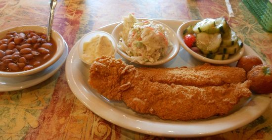 Vittles: Catfish Lunch