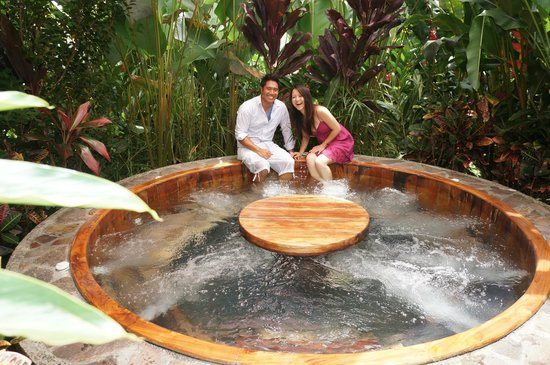 Nayara Resort Spa U0026 Gardens: One Of The 3 Jacuzzis Each In A Very