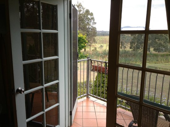Villa Provence:                   french doors opening onto balcony