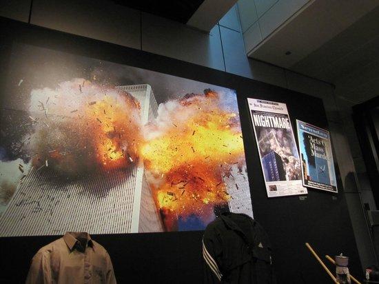 Newseum:                   9/11 exhibit