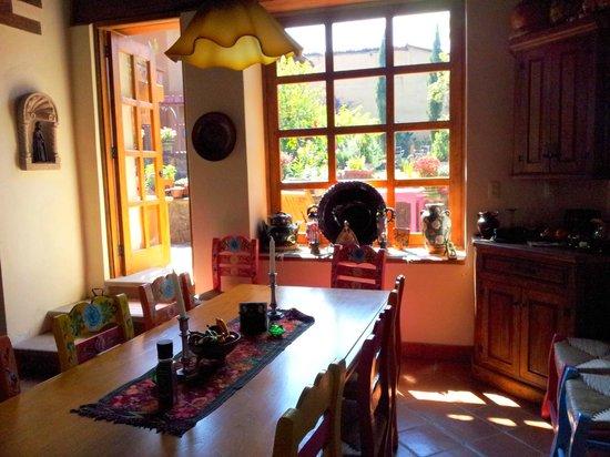 Villa Victoria:                   Dining Room