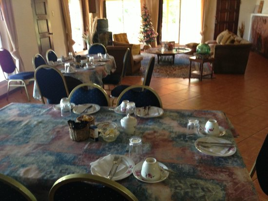 Hotel Victoria: Breakfast area