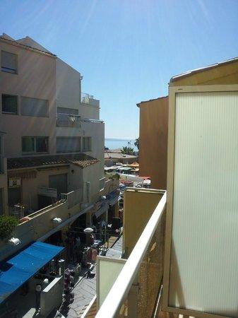 Hotel Sablotel: vue de la terrasse