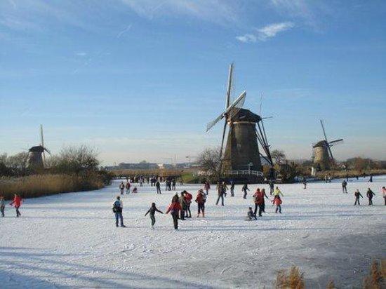 Alblasserdam, Nederland:                   winter wonderland