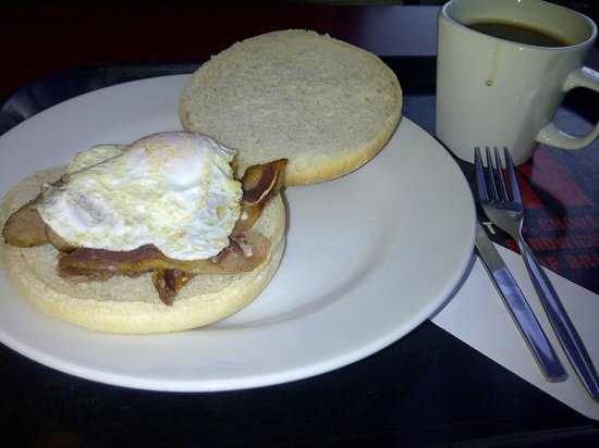 Papa John's M3 South:                   Breakfast Bap - scrummy