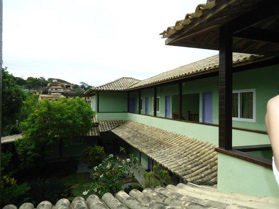 Pousada Aguas Claras Buzios:                   Vista da varanda do quarto