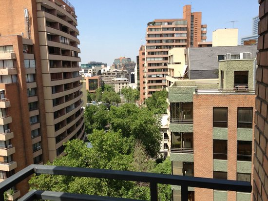 Plaza El Bosque San Sebastian: View from room 105