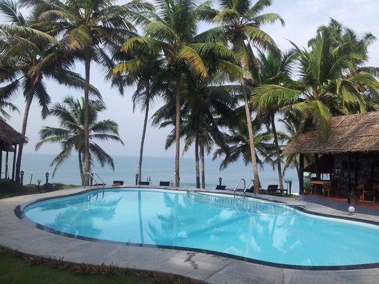 Krishnatheeram Ayur Holy Beach Resort:                   View