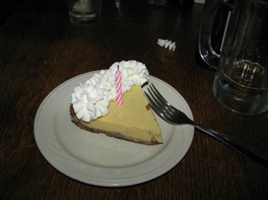 The Whaling Company : My birthday pie