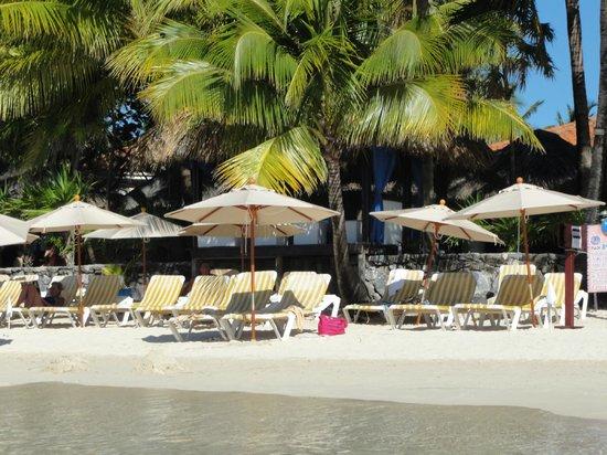 Mayan Princess Beach & Dive Resort: Uncrowded beach