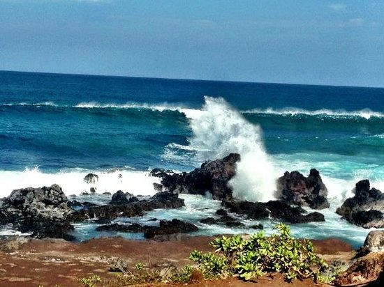Paia, HI:                   The beautiful views at Ho'okipa Beach