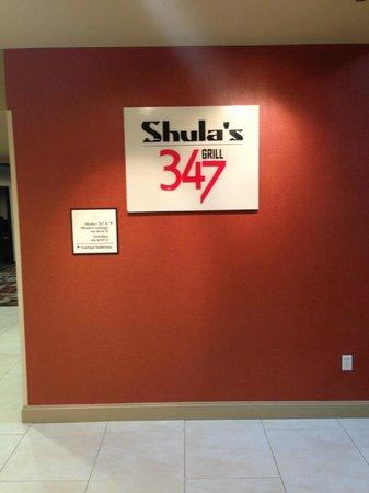 Sheraton Chapel Hill Hotel: restraunt