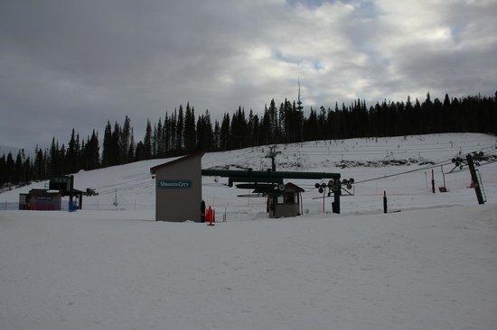 Bridger Bowl: Bunny Slope and Beginner Ski Lift