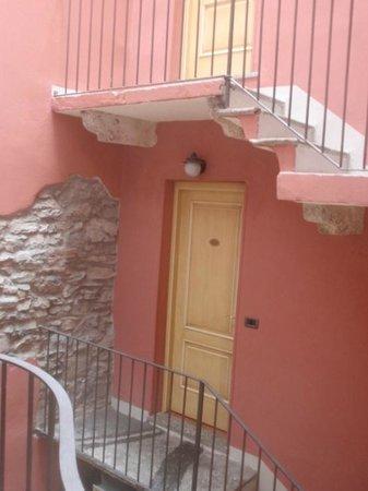 Borgovico Hotel:                   binnenplaats