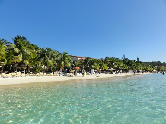Mayan Princess Beach & Dive Resort: Yes, it was really this beautiful!