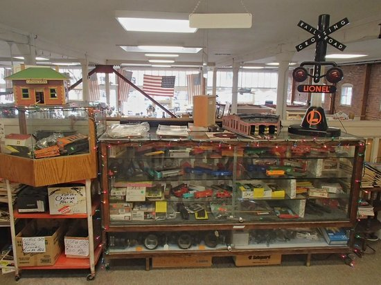 Whistlestop Antiques:                   Train collecting.....