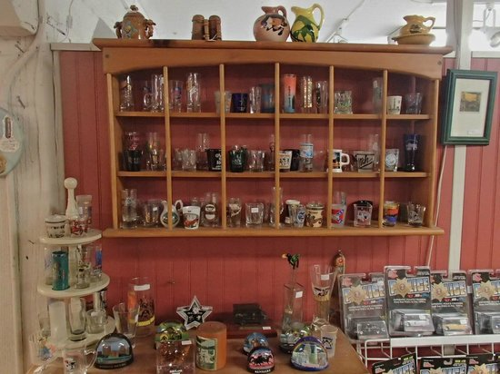 Whistlestop Antiques:                   Nice shot glass collecting......and collections for anyone.