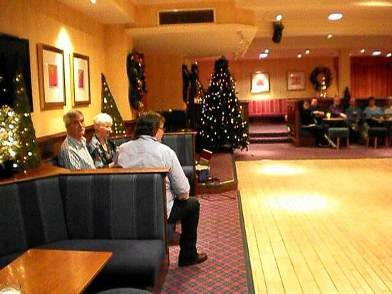 Inversnaid Hotel:                   The function room