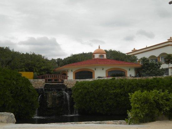 Heaven at the Hard Rock Hotel Riviera Maya:                   Yoga Center