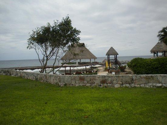 Heaven at the Hard Rock Hotel Riviera Maya:                   Beach/Lagoon