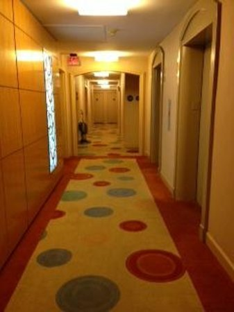 One Washington Circle Hotel:                   A look down the hall