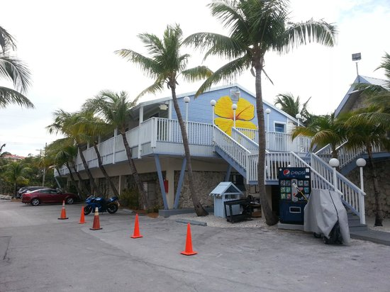 Ibis Bay Beach Resort:                   This building has two levels of lodging.