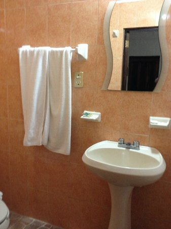 Hotel Posada de Roger:                   very clean bathroom