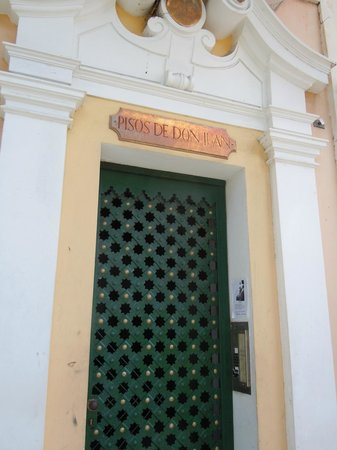 Posada San Francisco Old San Juan: this is the door you are looking for