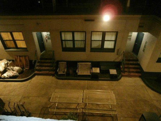 Chelsea International Hostel:                   View from our room...what you are seeing is courtyard and bigger quarters    