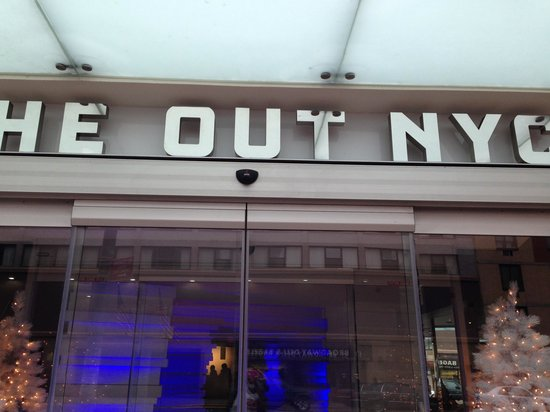 The Out NYC:                   Entrance