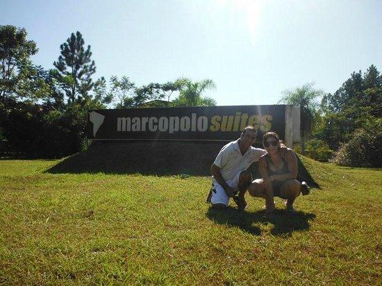 """Marcopolo Suites Iguazu:                   Entrada """"Gracias MarcopoloSuite"""""""