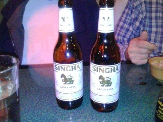 Tara Thai:                   Thai beer