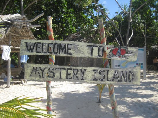 Mystery Island :                   The sign says it all