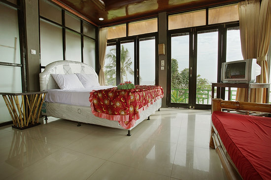 Soka Indah Restaurant & Bungalows : Breath Taking View from VIP Room
