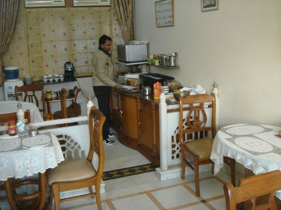 Bajaj Indian Home Stay:                   at breakfast