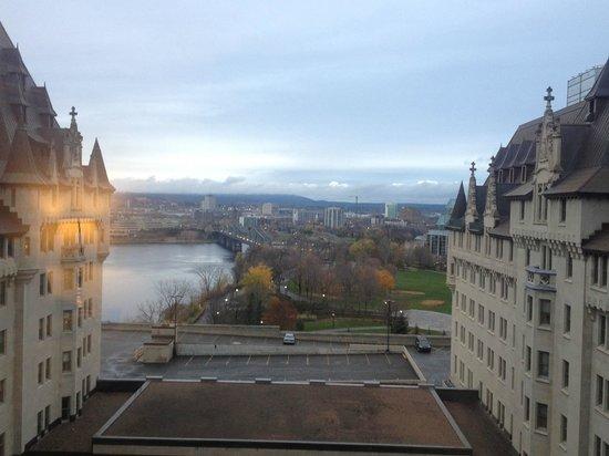 Fairmont Chateau Laurier:                   my view