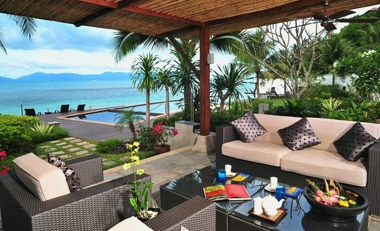 The Lotus Terraces: Banyan Beach Pool Villa - Terrace with a view
