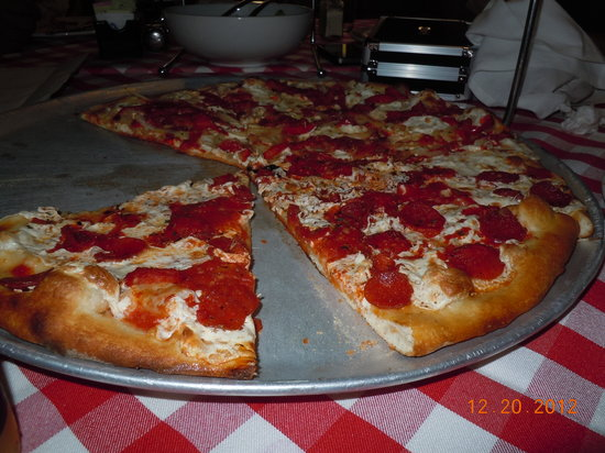 Grimaldi's Pizzeria  N Scottsdale : Very Good!