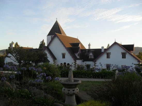 Hatcher's Manor:                   The Manor at Sunset