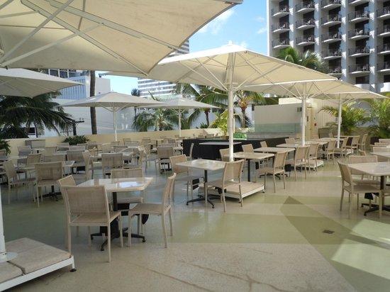 Hyatt Place Waikiki Beach:                   Breakfast area