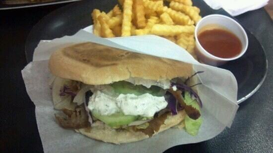 The Doner kebab
