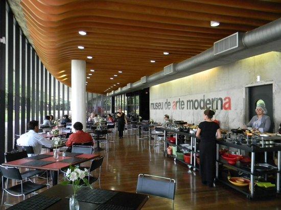 Modern Art Museum of Sao Paulo: Cafetería