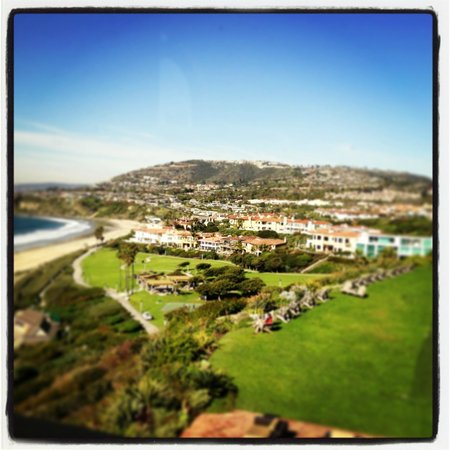 The Ritz-Carlton, Laguna Niguel: View from the lobby bar